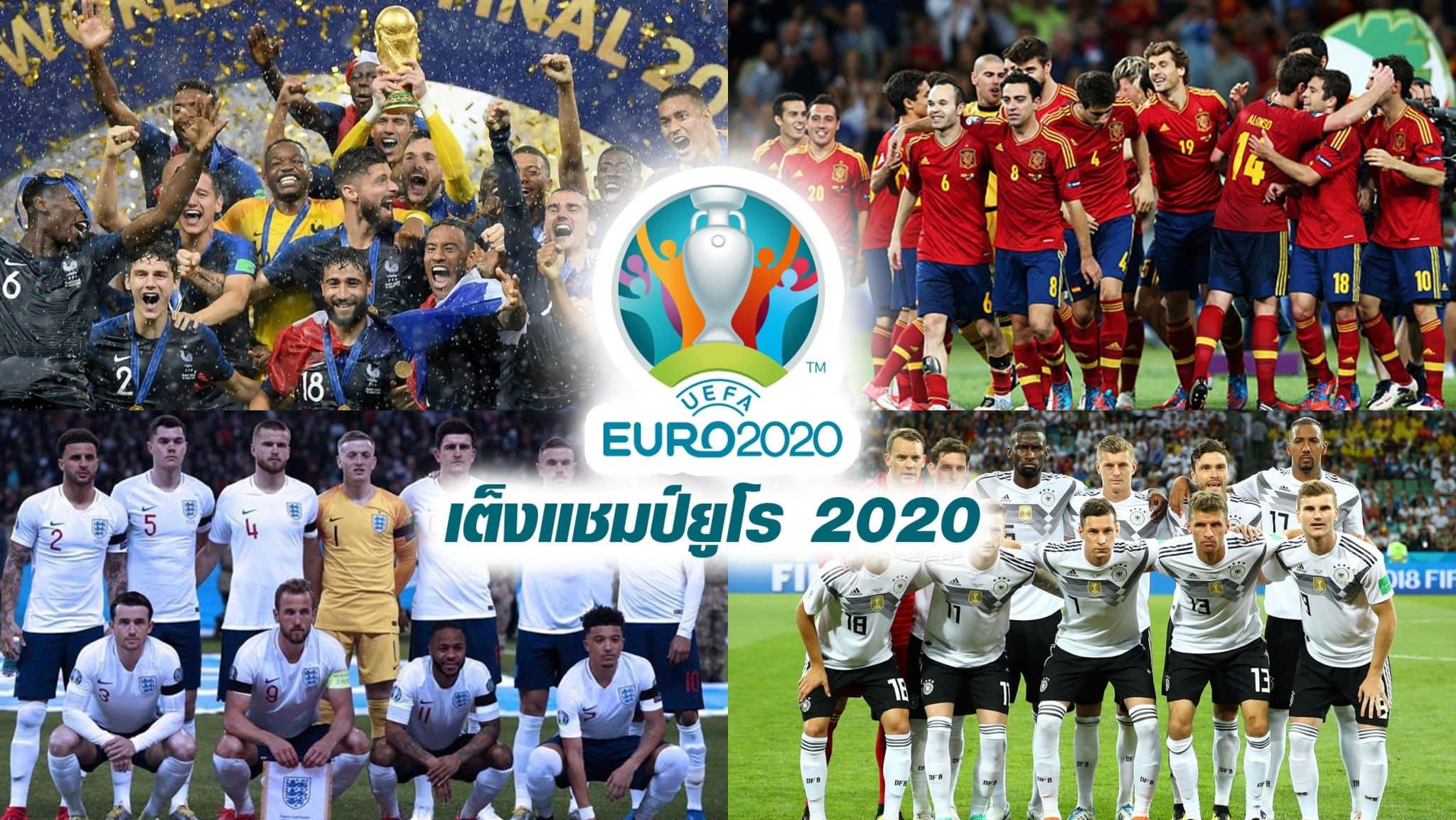ยูโร 2020 ทีมเต็งแชมป์