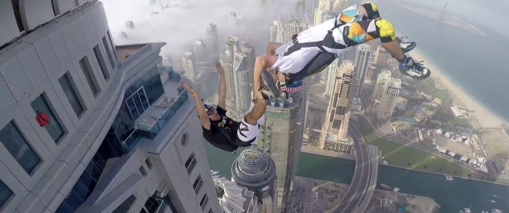 กีฬา BASE jumping