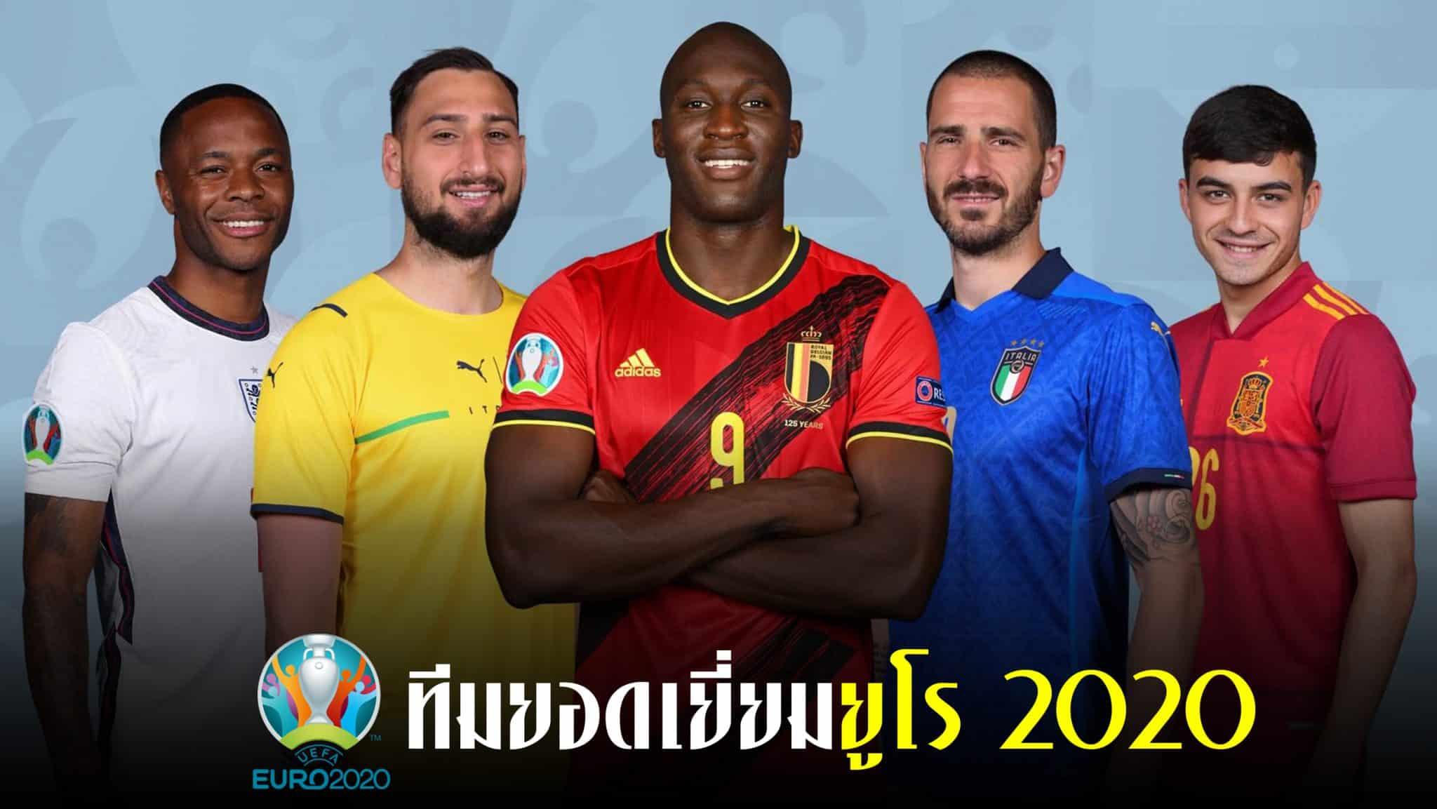 ทีมยอดเยี่ยมยูโร 2020